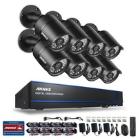 ANNKE 8CH 1080P HD DVR Outdoor IR CCTV Home Surveillance Security Camera Syste
