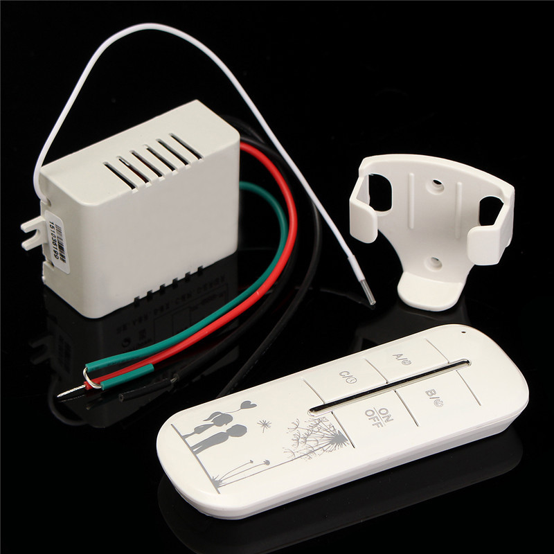 315MHz 1CH 3 Way Port ON/OFF 220V Lamp Light Digital Wireless Wall Remote Control Switch Receiver Transmitter Best Price купить