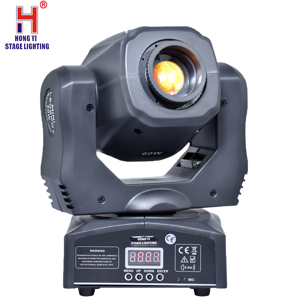 moving 60w LED Moving Head gobo Light led dmx 512 control dj diso moving head light(4 pieces/lot)