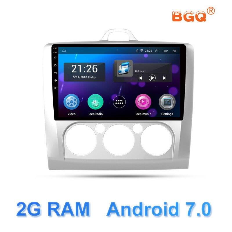 """9 """"android-автомобильный DVD мультимедийный плеер gps для ford focus 2 3 2006 2007 2008 2009 2010 2011 аудио автомобиля радио Стерео навигатор"""