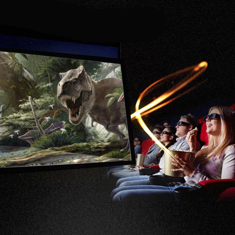 ALLOYSEED Portable 60/72/84/100/120 inch 3D HD Wall Mounted Projection Screen Canvas 16:9 LED Projector Screen For Home Theater 15