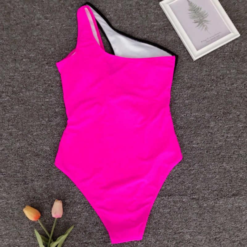 2019, Цельный купальник с принтом, женская одежда для плавания, глубокий v-образный вырез, монокини боди, купальник без спинки, пляжная одежда, купальный костюм с высоким вырезом