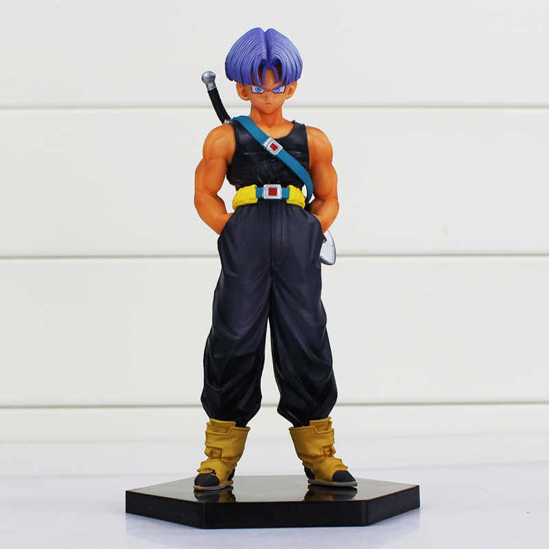 1 pcs 15 cm Ressurreição F Troncos Troncos de Dragon Ball Z Figura PVC Figuras Brinquedos Modelo Collectible Dolls Frete Grátis