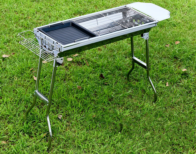Outdoor charcoal grill stainless steel grill oven portable - Portable dishwasher stainless steel exterior ...
