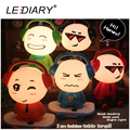 LEDIARY New Cute Scooter boy Desk Lamp E14 Replaceable Light Source Red/Orange/Blue/Black/Green Night Light Baby Bedside Lamp