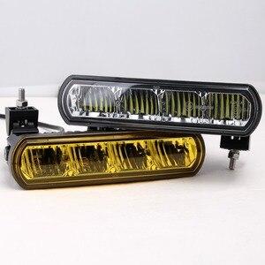 Image 3 - 8 pouces 40W mince barre de Led hors lumière de route pour voiture 12V 24V Wrangler jk ATV SUV camion moto faisceaux dinondation Barra 4x4 feux de route