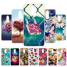 3D DIY Case For Huawei Mate 9 Pro Silicone Flamingo Painted Cover Mate9 Bag Fundas Coque Housing