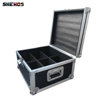 Flight Case With 6 8 10 Pieces LED Flat Par 7x12W RGBW Lighting 4IN1 LED Fast