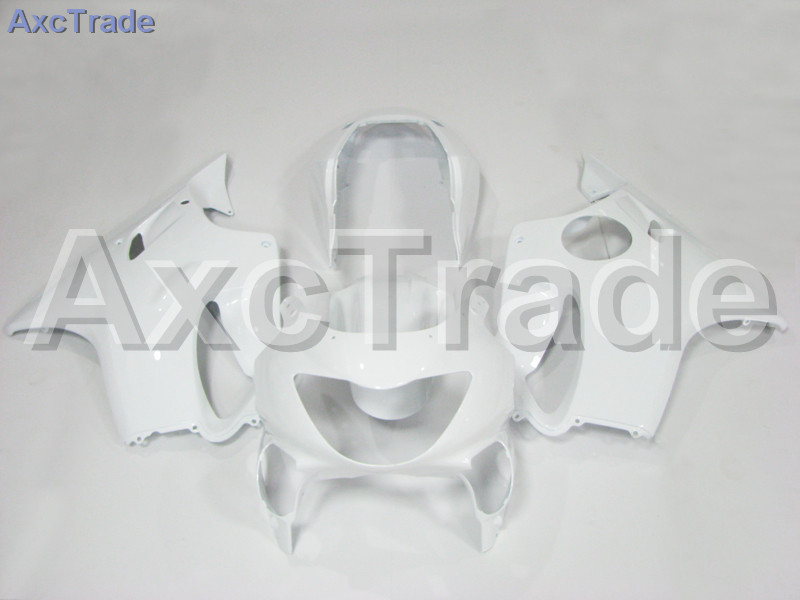 Motorcycle Fairings For Honda CBR600RR CBR600 CBR 600 F4 1999 2000 99 00 ABS Plastic Injection Fairing Bodywork Kit White A574 for honda cbr600rr 2007 2008 2009 2010 2011 2012 motorbike seat cover cbr 600 rr motorcycle red fairing rear sear cowl cover