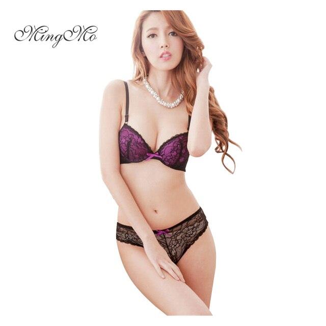 3ef7c3b12f4c8 2018 nouvelle marque sexy lingerie fille avec belle Y-ligne dentelle  push-up sans