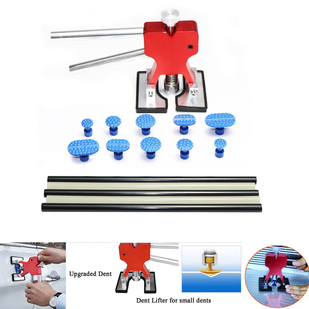 PDR Tools Paintless Dent Repair Car Repair Tool Set Dent Removal Mini Lifter Bridge Puller Glue Tabs Fungi Suction Cups For Dent pdr tools paintless dent repair car repair tool set dent removal mini lifter bridge puller glue tabs fungi suction cups for dent
