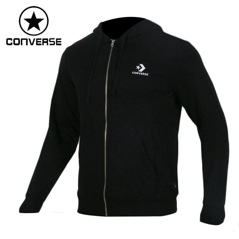 Original New Arrival 2018 Converse Star Chevron Emb FZ Hoodie Men's Jacket Hooded Sportswear original nike women s jacket hoodie sportswear