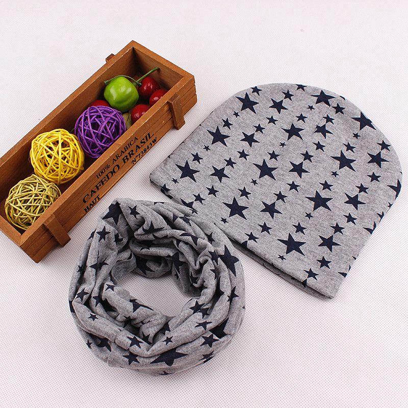 a51bc609c649 Dropwow Autumn Winter Baby Hat Scarf Nice Camo Print Cotton Kids Boy ...