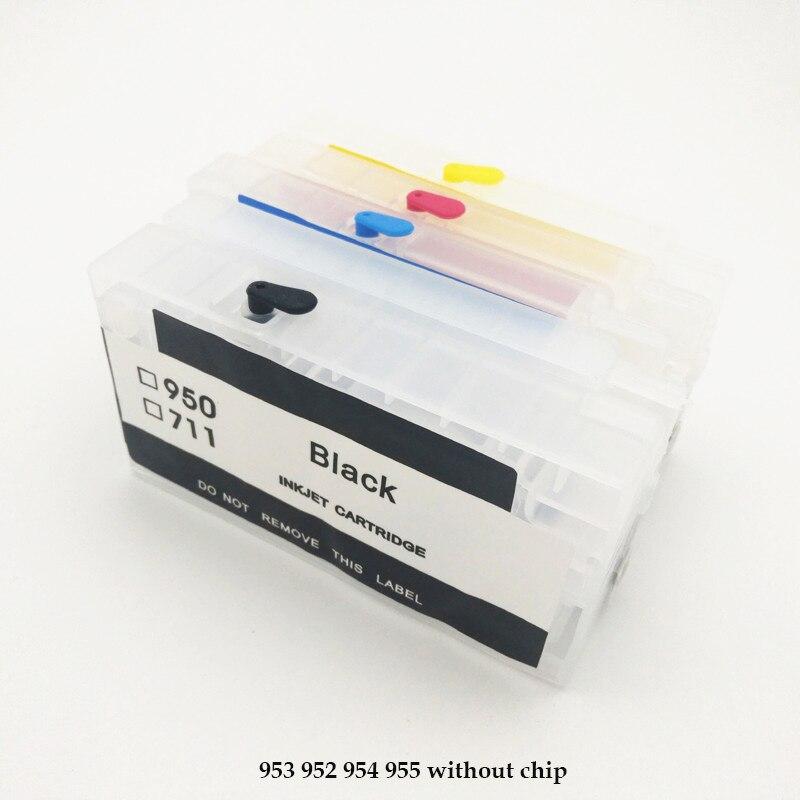 8PK 952XL 952 Black Ink Cartridge For HP Officejet Pro 8710 8716 8720 8725 8728