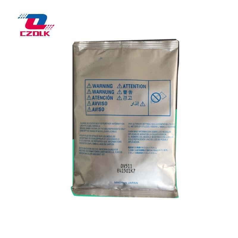 New compatible Dv511 Developer for Konica Minolta bizhub 420 500 421 501 360 361 625g/bag Developer 1 bag dv601k compatible developer for minolta 7165 650 7155 7255 5510 551 7210 7272 printer copier parts
