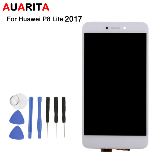1pcs/lot LCD For Huawei P8 Lite 2017 PRA-LA1 PRA-LX1 PRA-LX3 honor 8 lite WAS-LX1A LCD Display+ Touch Screen Digitizer Assembly