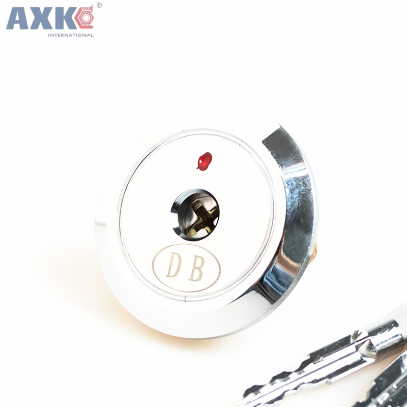 AXK Entrance Door Lock Cylinder Brass Copper Core With Cross Keys For Home Gate Furniture Hardware аксессуар red line usb 8 pin 2m black ут000009514