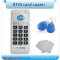 Actualización de Mano 125 Khz-13.56 MHZ RFID Copiadora Duplicadora Clonador ID/IC lector y escritor de tarjetas 10 unids 125 KHZ + 2 unids 13.56 MHZ tarjetas