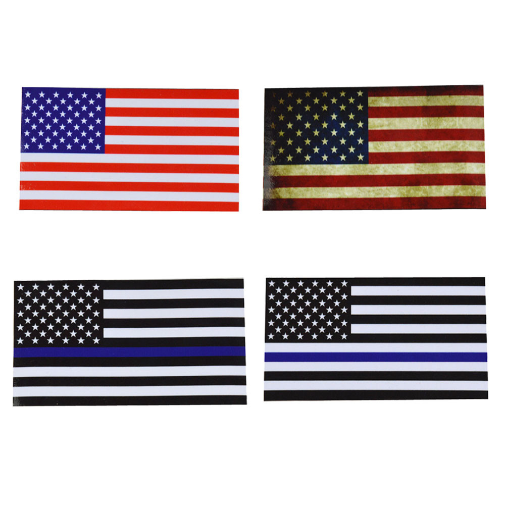 Popular american flag decal buy cheap american flag decal for Proper placement of american flag