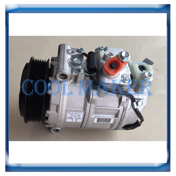 Auto Ac Compressor For Mercedes Benz E350 E550 E207