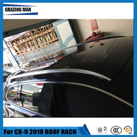 Aluminium Alloy Car Roof Rack Rails Luggage Carrier Baggage Cross Bar For Mazda CX9 CX 9 2018 18