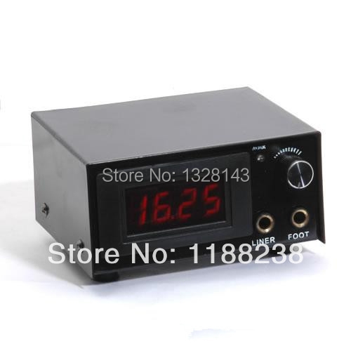 Wholesale Newest Dual Digital LCD Power Supply Tattoo Power Supply PS-35 for tattoo machine gun kit high quality free shipping