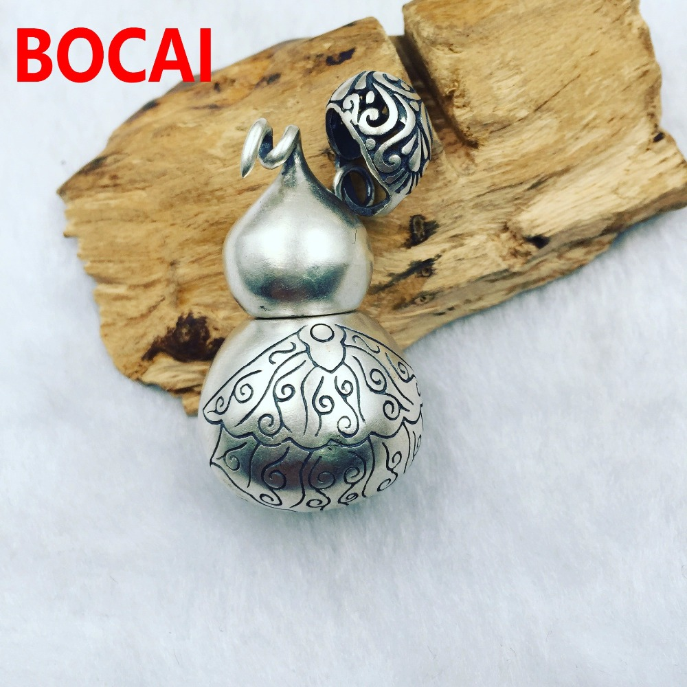 S925 high technology can open the factory direct gourd Pendant цена