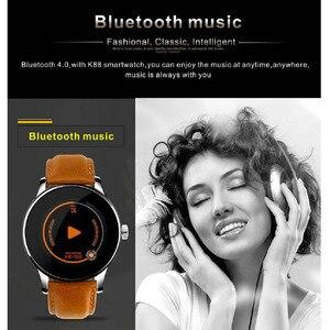 Image 5 - Greentiger K88H Bluetooth Смарт часы с пульсометром фитнес трекер Смарт часы спортивный смарт браслет для Android IOS