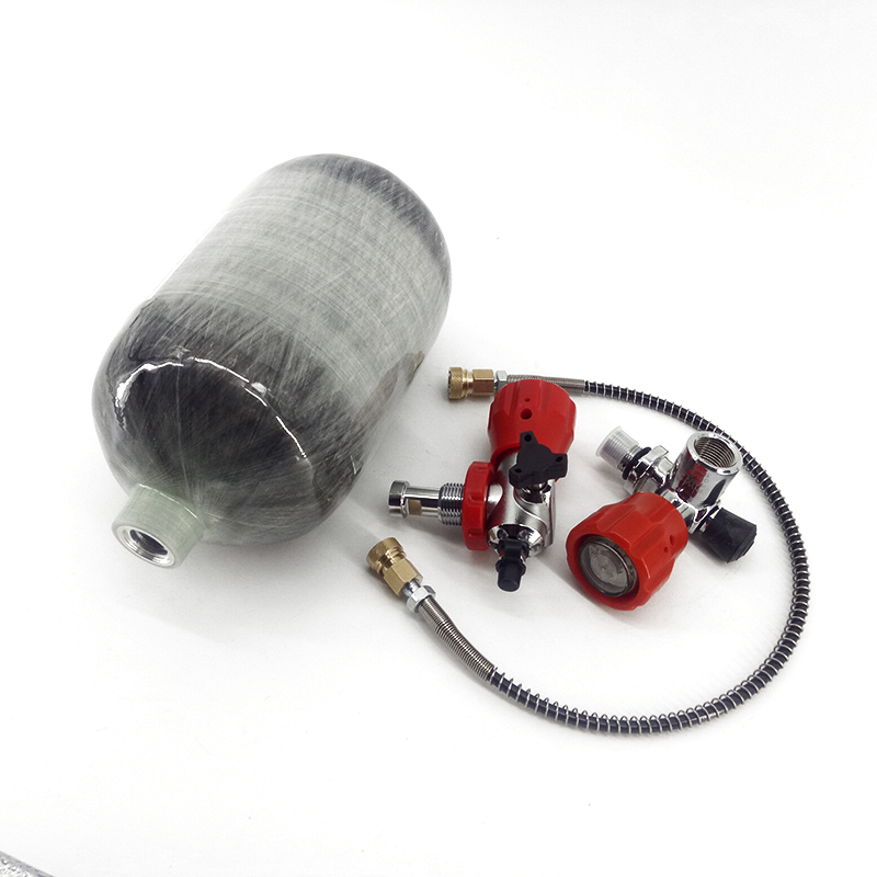 Réservoir d'air AC52011 2L CE/pression de fusil à Air comprimé/force aérienne Condor Paintball AirGun réservoir cylindre Pcp Station de remplissage-in Masques de protection respiratoire from Sécurité et Protection    3