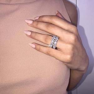 Fine ring Oval cut AAAAA Cz St