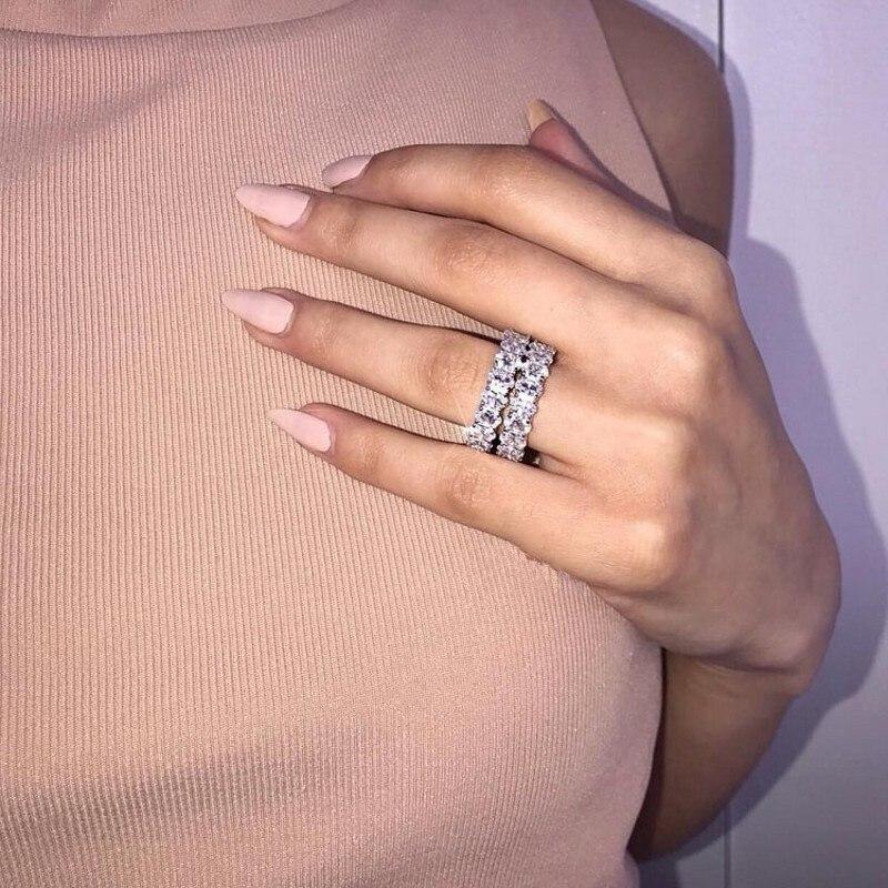 Feine ring Oval cut AAAAA Cz Stein 925 Sterling silber, Verlobung, hochzeit band ring für frauen männer Luxus Finger Schmuck geschenk