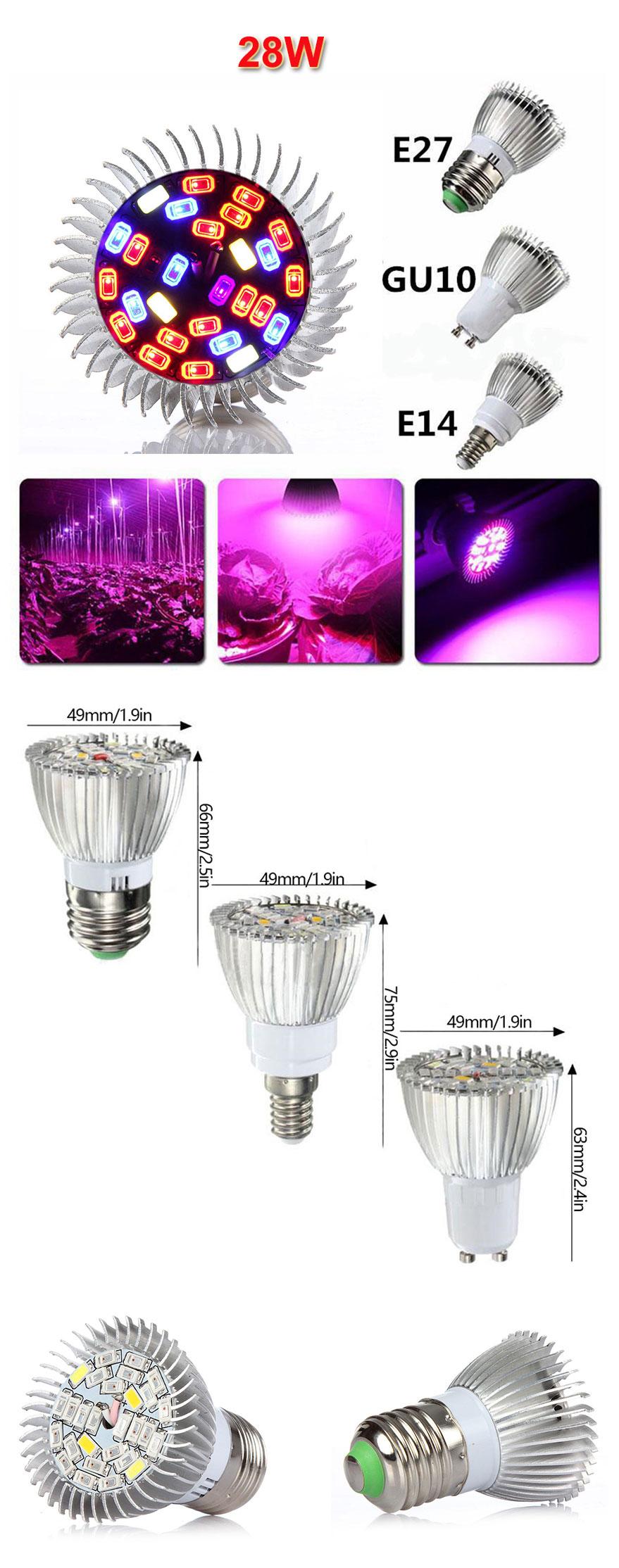 />LED Pflanzenlampe E14 PREMIUM 80 LED/'s 18W Anzucht med PflanzenLeuchten Hanf