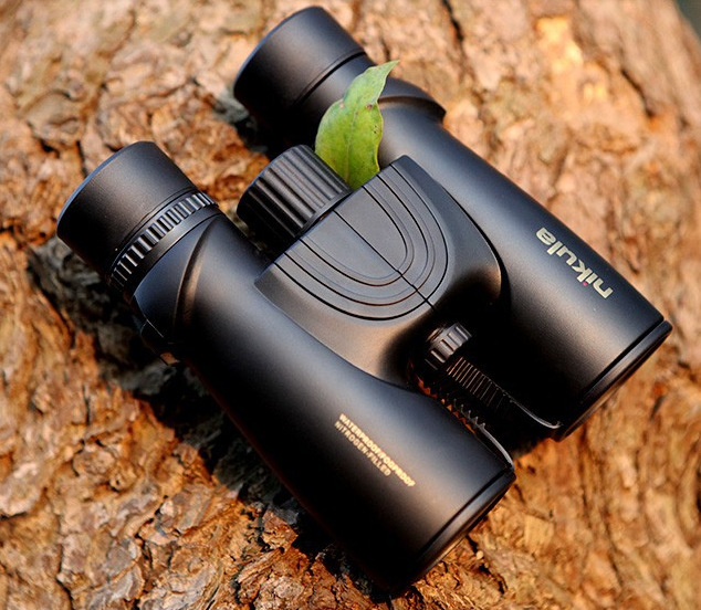 10x42 Binoculars Telescope Waterproof HD High Quality Telescopio Binoculo BAK4 Prism Roof Prism HD Low Light Level Night Vision цена