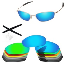 PapaViva Polarized Replacement Lenses and Black Earsocks & Clear Nose Pads for Authentic Whisker Sunglasses - Multiple Options