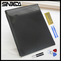 Sinbeda 9.7 inch Original Tested 1024x768 LCD Screen Replacement Part for ipad 2 lcd screen display Free Tools & Adhesive