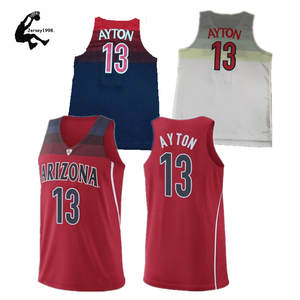 Mens Arizona Wildcats 13 DeAndre Ayton College Basketball Jerseys 413233ba4cf3