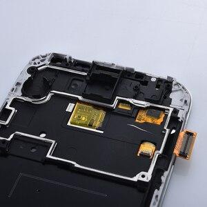 Image 5 - 5.0 شاشات lcd لسامسونج غالاكسي S4 شاشة الكريستال السائل مع الإطار GT i9505 i9500 i9505 i9506 i9515 i337 محول الأرقام بشاشة تعمل بلمس