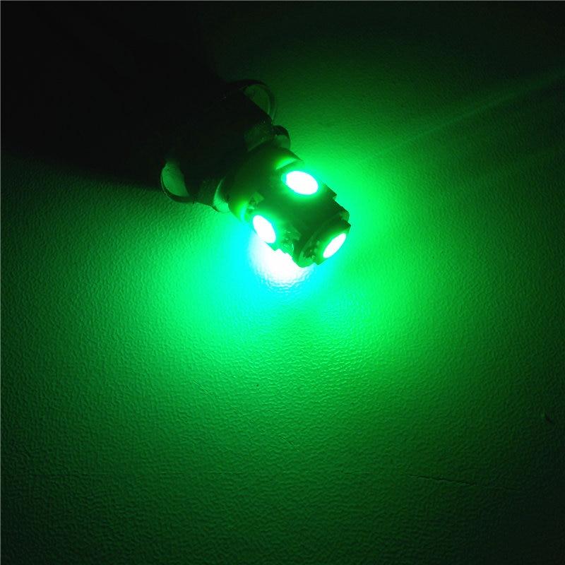 12V CANBUS dekodirajuća LED žarulja automobila 1pair T10 (5 * 5050 - Svjetla automobila - Foto 5