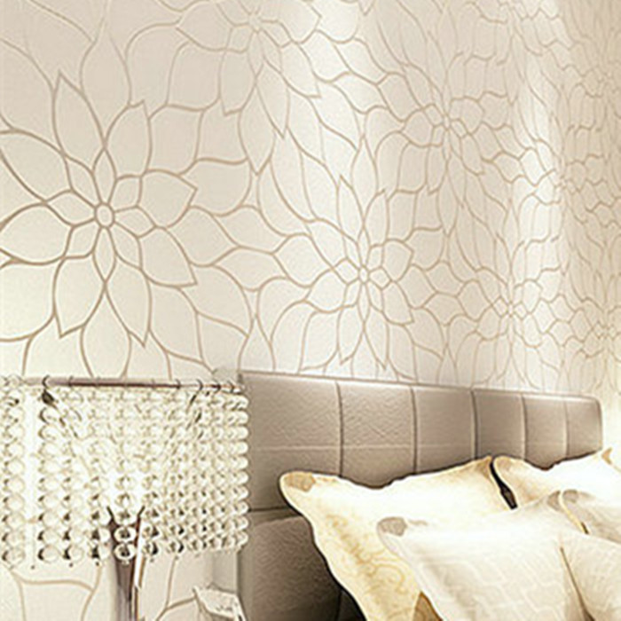 Gold Glitter Modern Wallpaper Flower Designs Textured 3d Wall Panel Seamless Contact Paper For Tv Background Papel De Parede Paper Art Wallpaper Paper Trickswallpaper Window Aliexpress