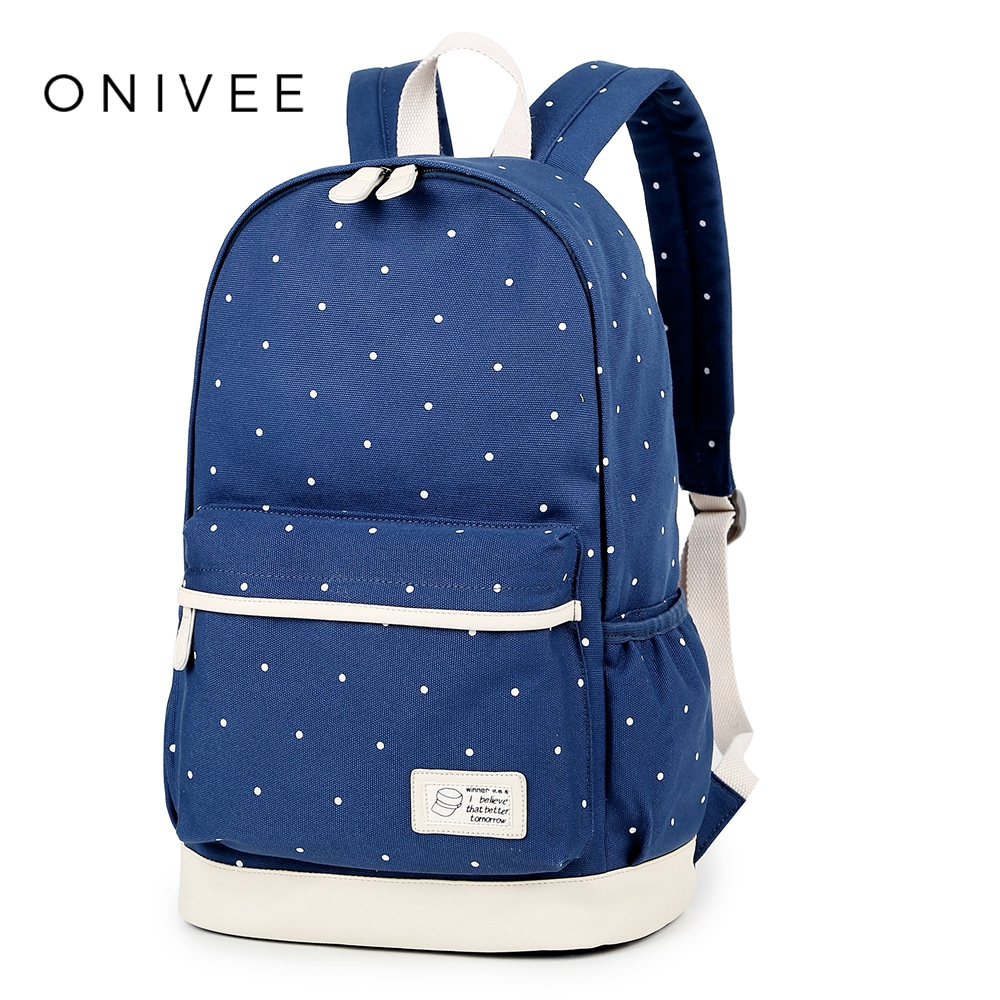 ONIVEE School Backpack Female Polyester Waterproof Backpack Japanese Street Bag Womens School Bag For Girls Bakcpacks A622
