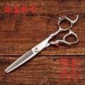 new 2015 Professional hairdressing 6 inch hair scissors made of japan 440C high-grade Cutting Thinning barber scissors