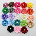 pearl Multilayers  flower Satin ribbon flower   DIY kids baby Hair accessories / Garment accessories
