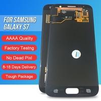 ACKOOLLA мобильных телефонов Дисплеи для samsung Galaxy S7 Мобильные аксессуары Запчасти дисплеев мобильных телефонов Сенсорный экран кронштейн
