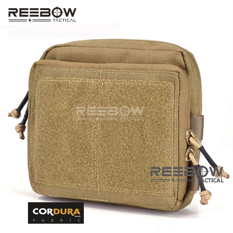 REEBOW TACTICAL 1000D CORDURA EDC Pouch Outdoor Military Daily Waist Organizer Bag MOLLE Utility Map Pack Cycling Hunting image