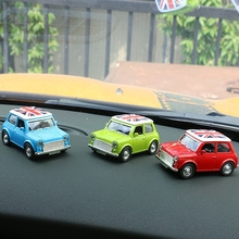1pc Toy Cars Models Alloy Car Interior Decoration Baby Kids Toys Children Gifts for BMW mini Cooper JCW One Styling