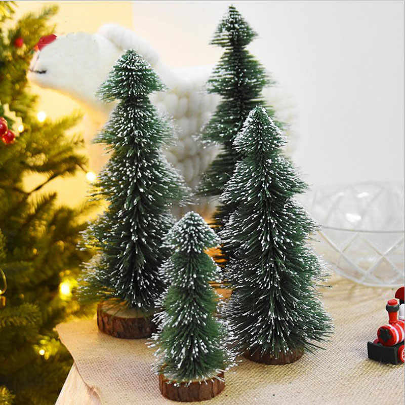 miniature christmas tree with white pagoda cedar christmas decorations with desktop small white process in trees from home garden on aliexpresscom - Decorating A Small White Christmas Tree