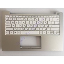 Russian keyboard For ASUS X201 X201E RU Laptop Palmrest Cover