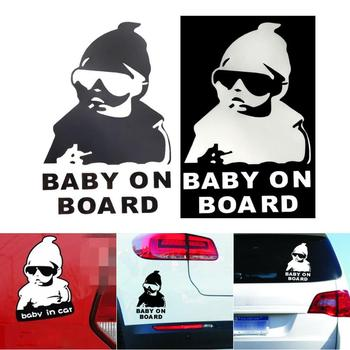 Car Sticker Pull Fuel Tank Pointer Funny Decals Emblem Symbol Creative Personalized Stickers Reflective Vinyl Decal Wholesale image