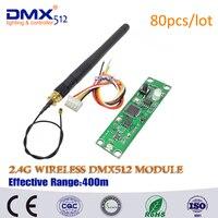 Бесплатная доставка DHL 2.4 г беспроводной DMX512 приемник передатчик, стабильность сигнала LED dmx-контроллер Disco фары DMX, best цена