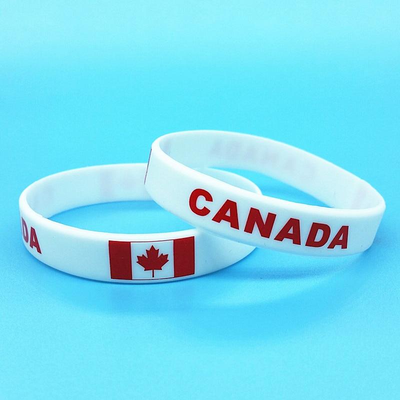 2pcs Canada Flag Silicone...